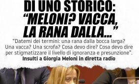 Attacco shock di uno storico contro Giorgia Meloni. L